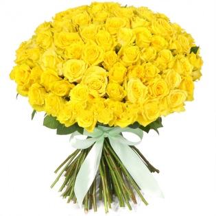 Розы Россия желтые